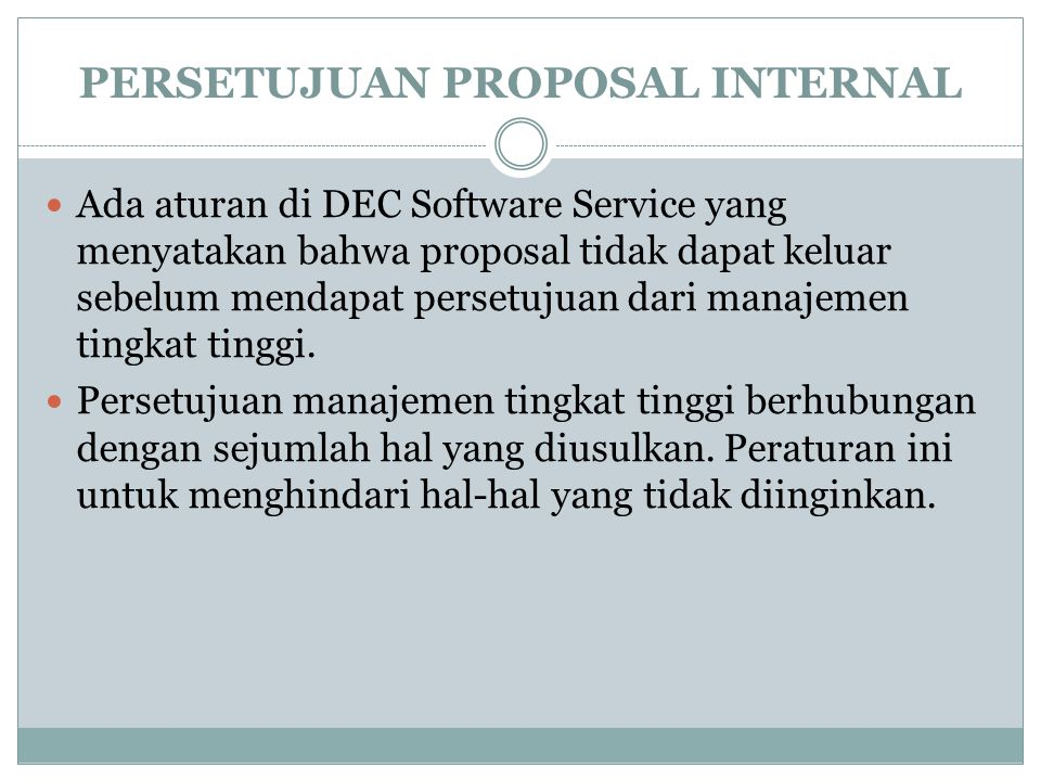 PERSETUJUAN PROPOSAL INTERNAL