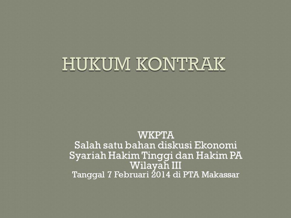 Tanggal 7 Februari 2014 di PTA Makassar