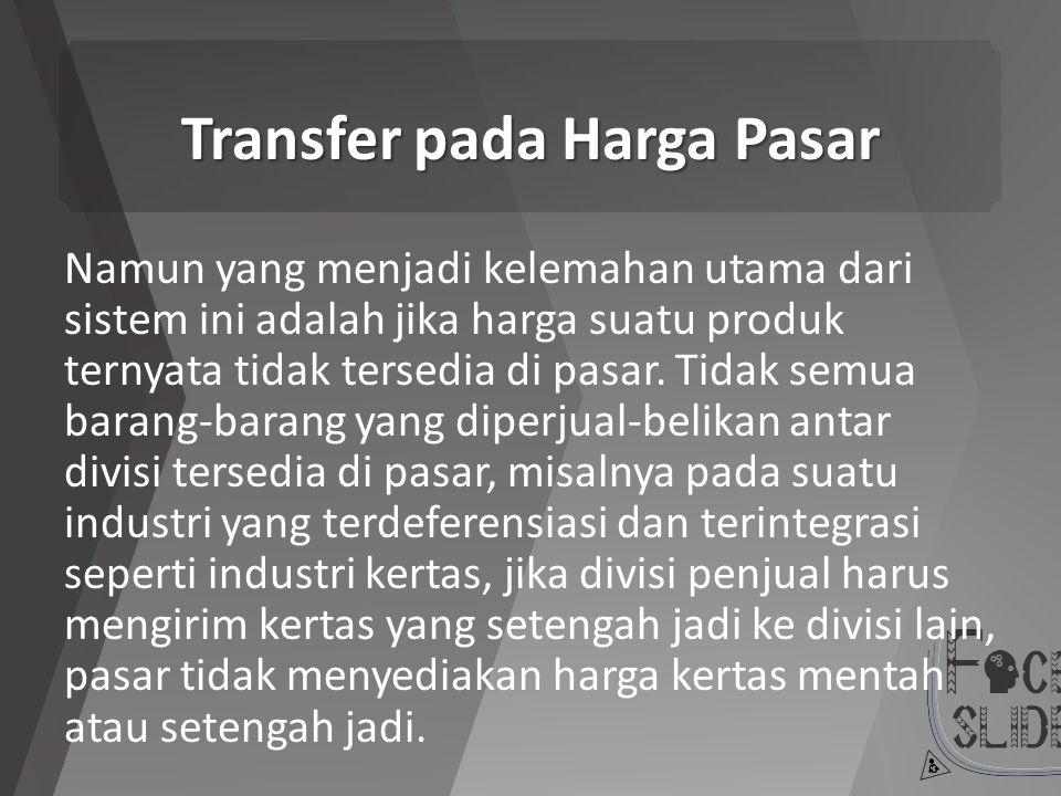 Transfer pada Harga Pasar