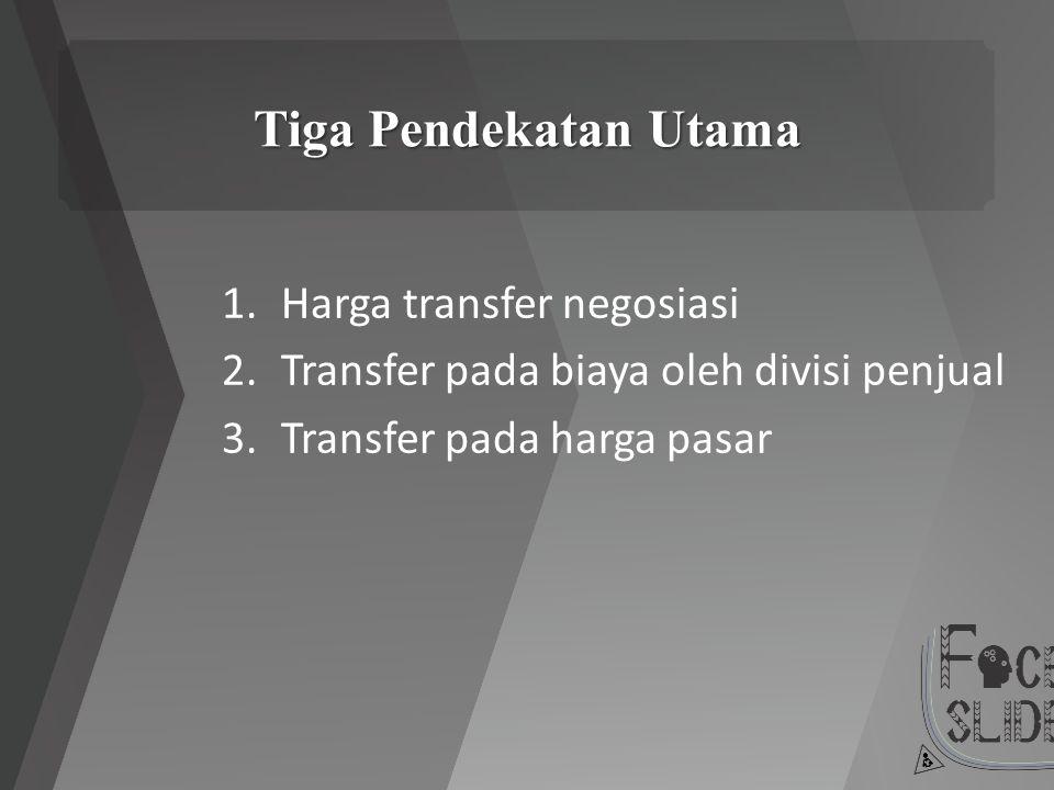 Tiga Pendekatan Utama Harga transfer negosiasi