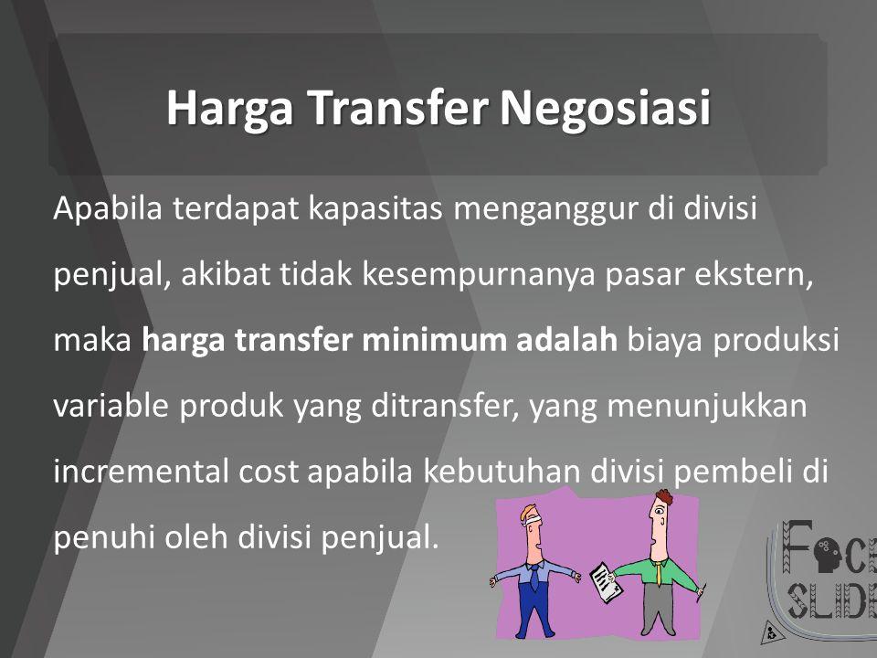 Harga Transfer Negosiasi