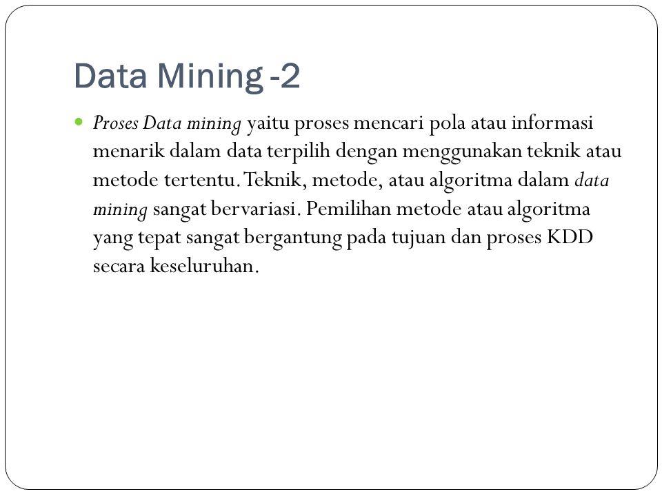 Data Mining -2