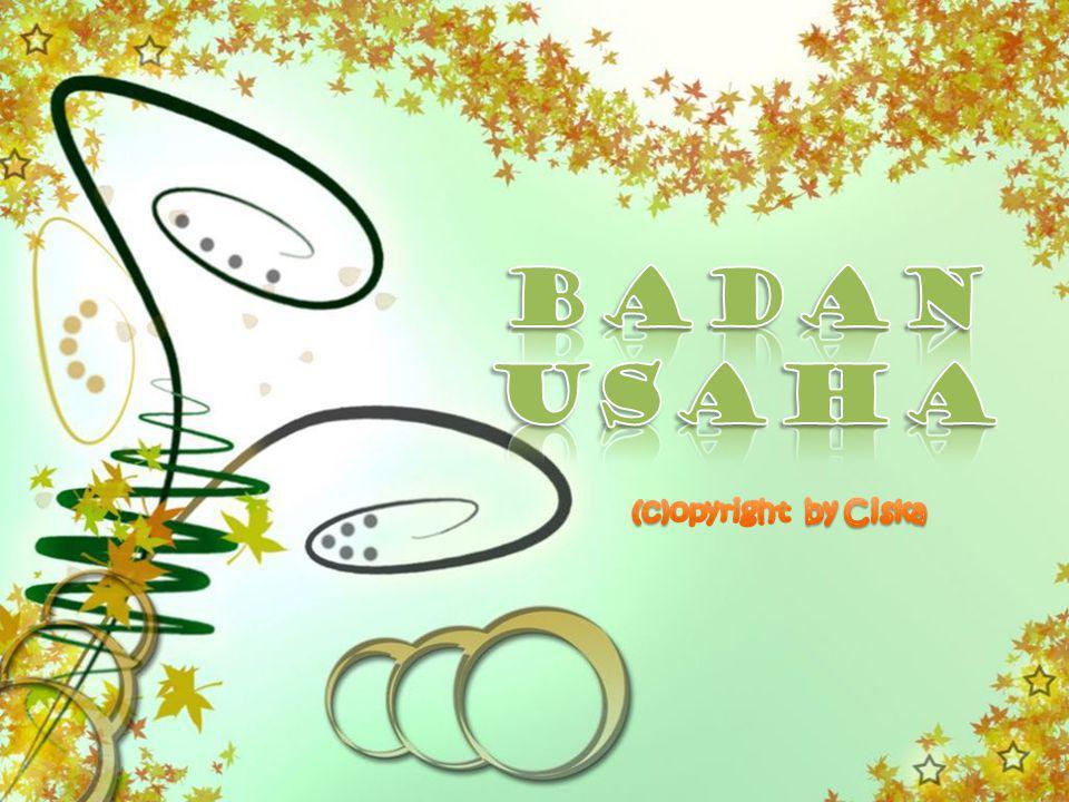 BADAN USAHA (c)opyright by Ciska