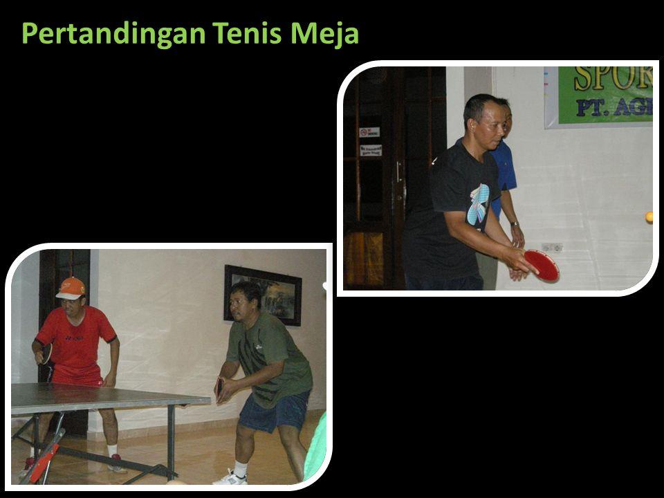 Pertandingan Tenis Meja