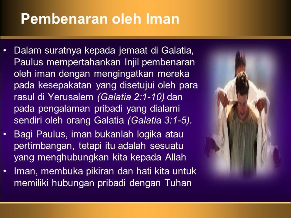 Pembenaran oleh Iman