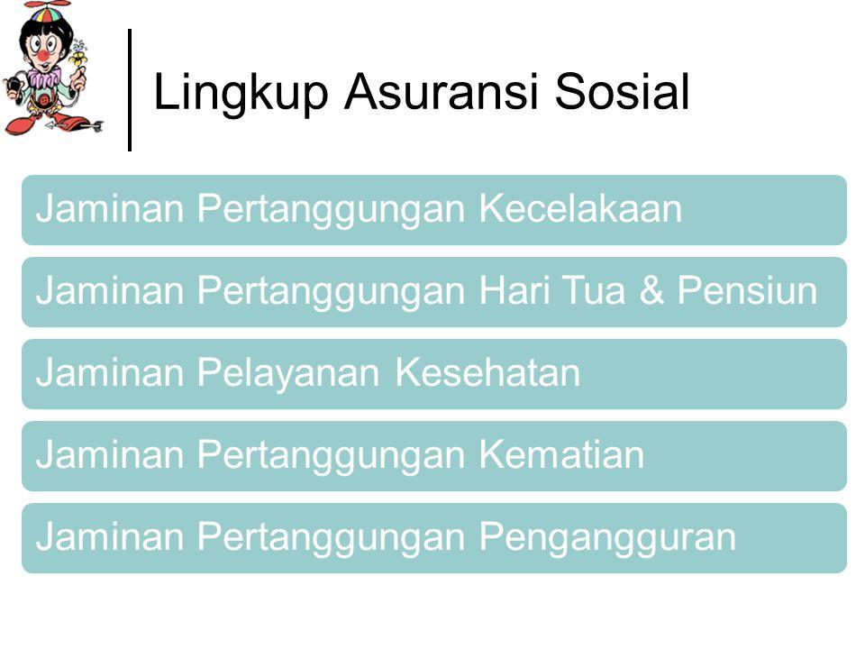 Lingkup Asuransi Sosial