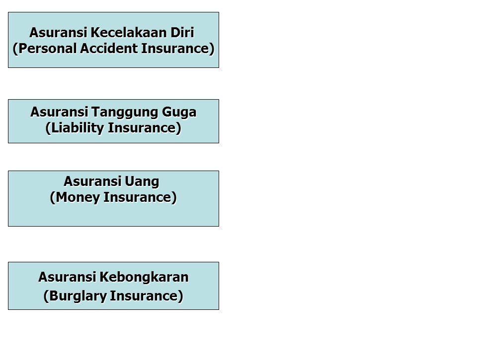 Asuransi Kecelakaan Diri (Personal Accident Insurance)