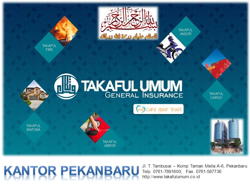 KANTOR PEKANBARU Jl. T. Tambusai – Komp Taman Mella A-6, Pekanbaru