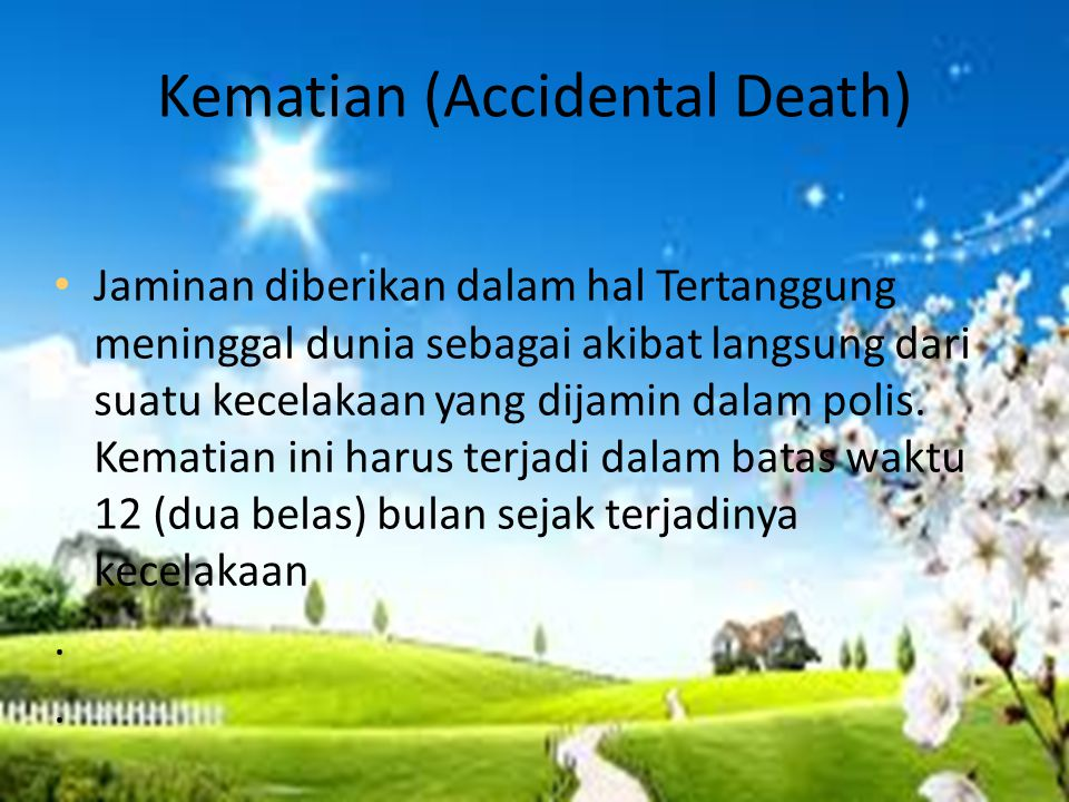 Kematian (Accidental Death)