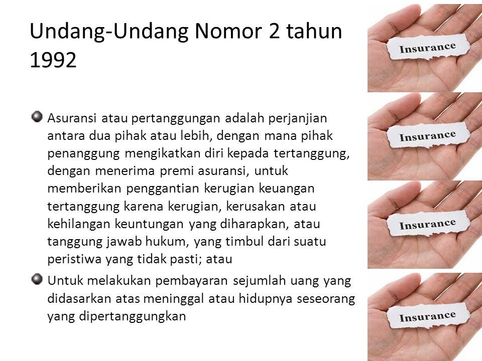 Undang-Undang Nomor 2 tahun 1992