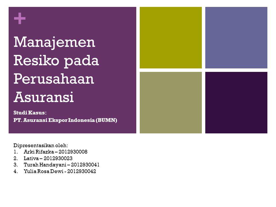 Manajemen Resiko pada Perusahaan Asuransi