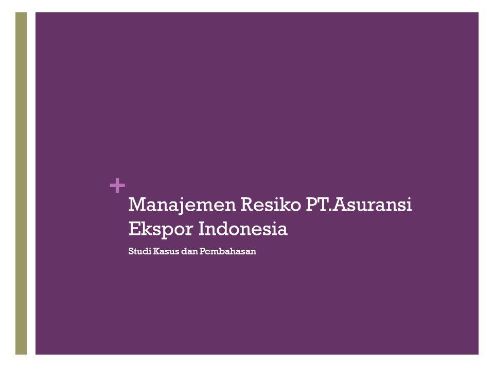 Manajemen Resiko PT.Asuransi Ekspor Indonesia
