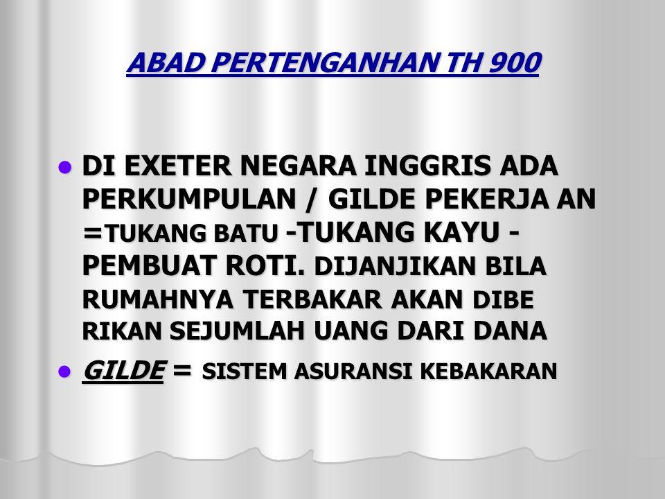 ABAD PERTENGANHAN TH 900