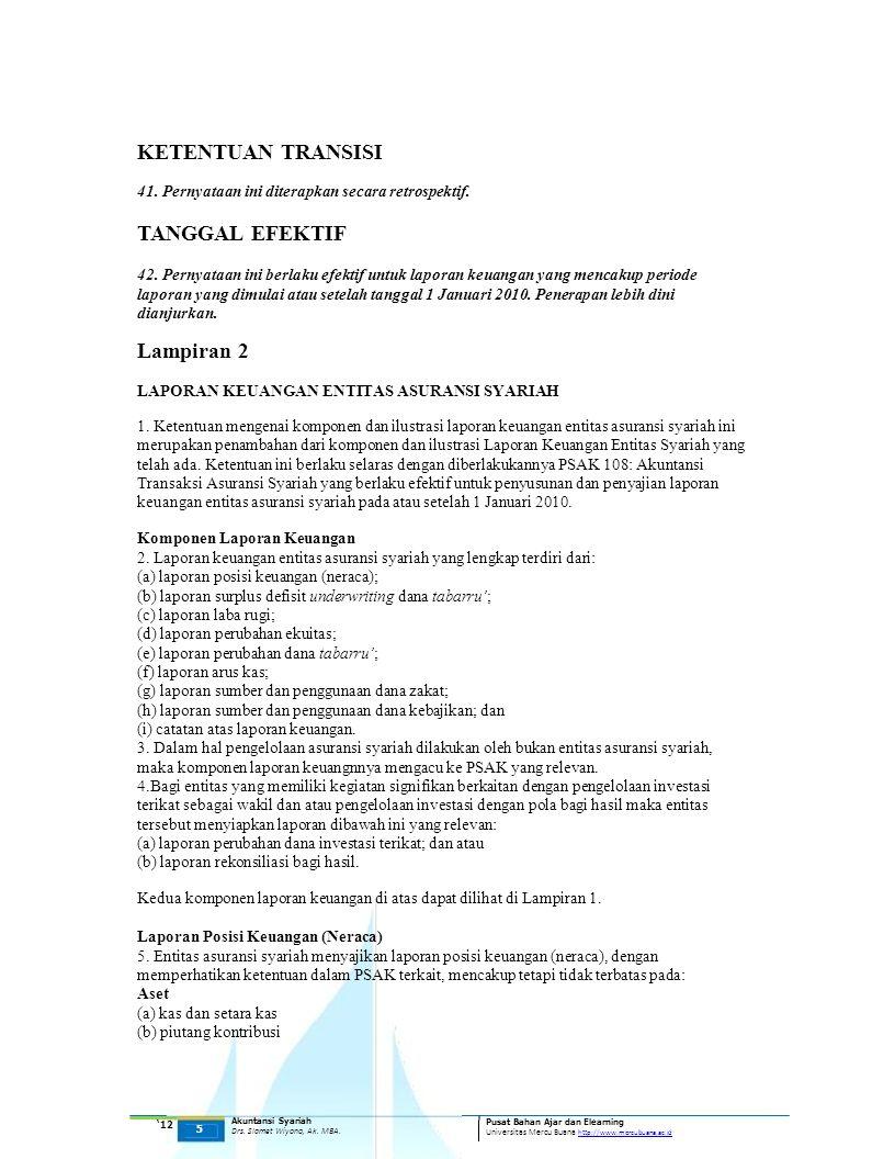 KETENTUAN TRANSISI TANGGAL EFEKTIF Lampiran 2