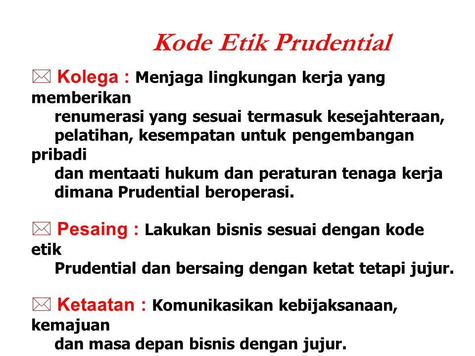 Kode Etik Prudential