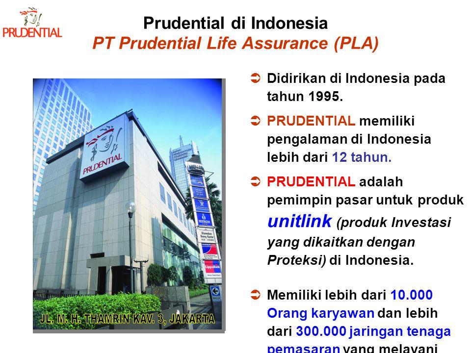 Prudential di Indonesia PT Prudential Life Assurance (PLA)
