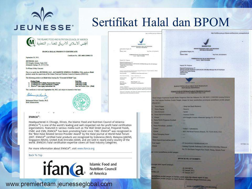 Sertifikat Halal dan BPOM