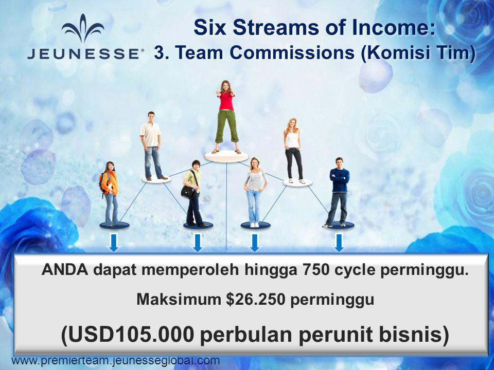 3. Team Commissions (Komisi Tim)