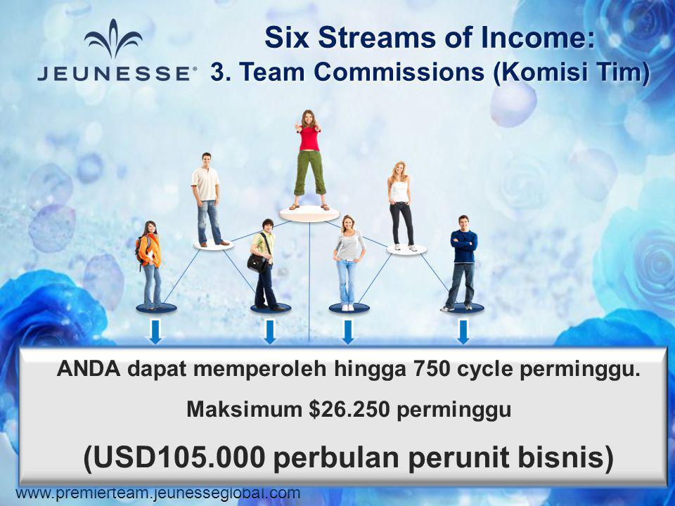 3. Team Commissions (Komisi Tim)