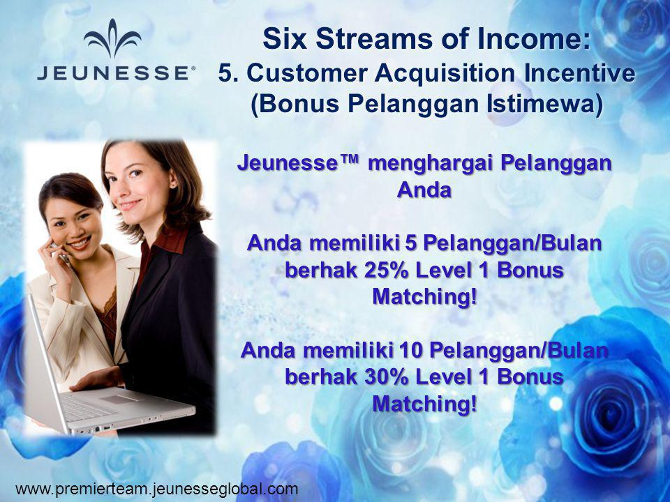 Six Streams of Income: 5. Customer Acquisition Incentive