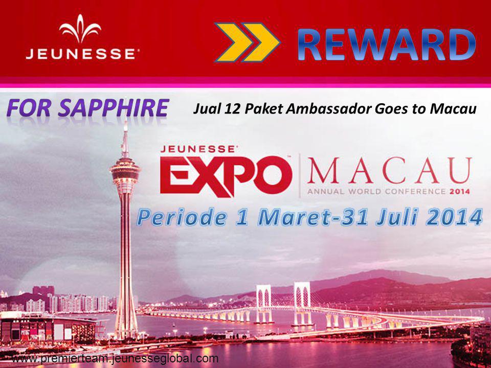 Jual 12 Paket Ambassador Goes to Macau