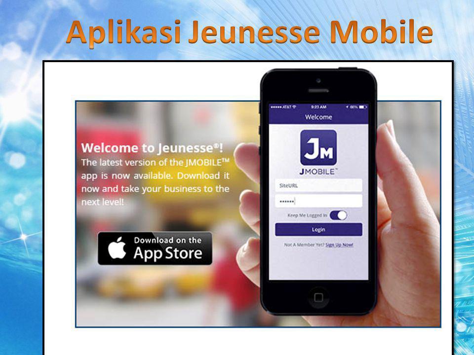Aplikasi Jeunesse Mobile