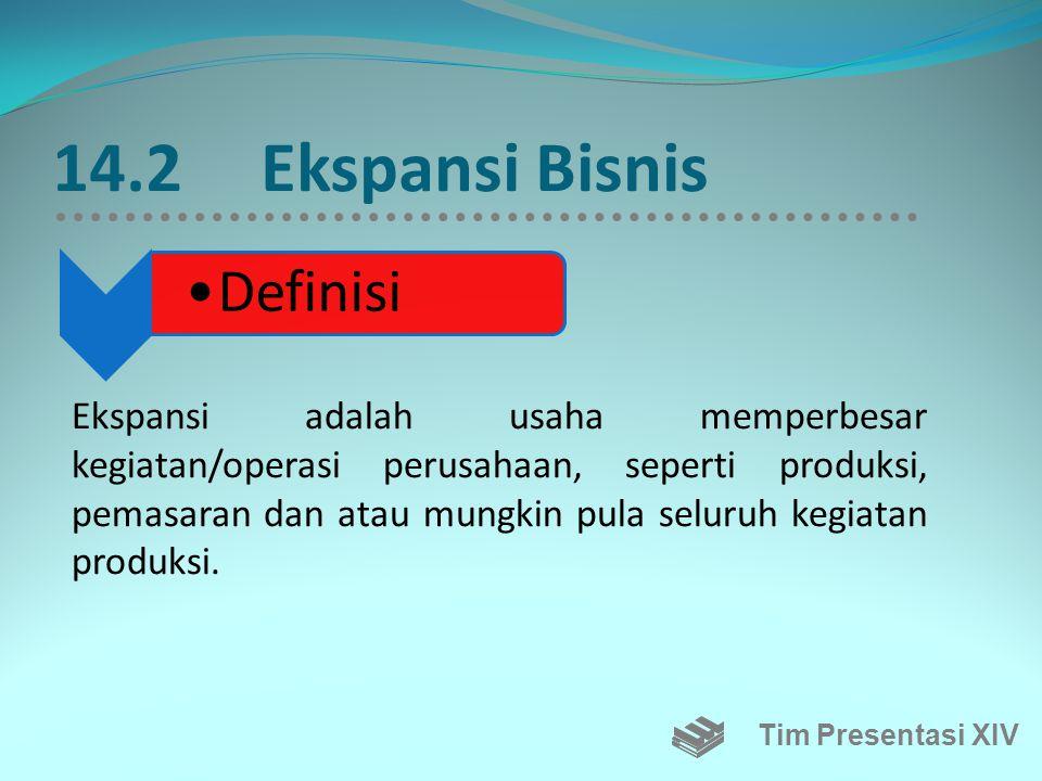 14.2 Ekspansi Bisnis Definisi.