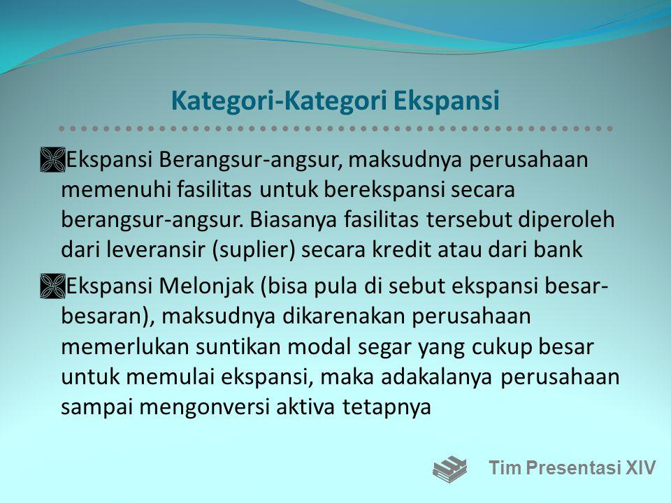 Kategori-Kategori Ekspansi