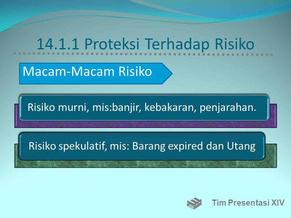 14.1.1 Proteksi Terhadap Risiko