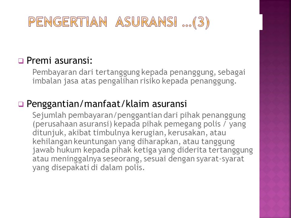 PENGERTIAN ASURANSI …(3)