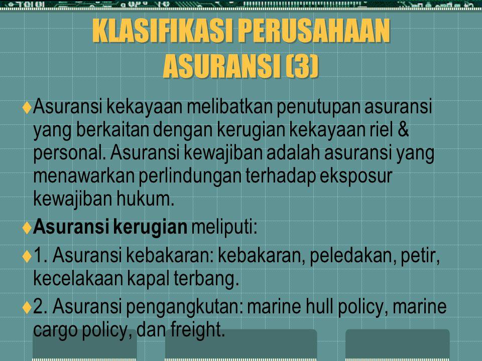 KLASIFIKASI PERUSAHAAN ASURANSI (3)