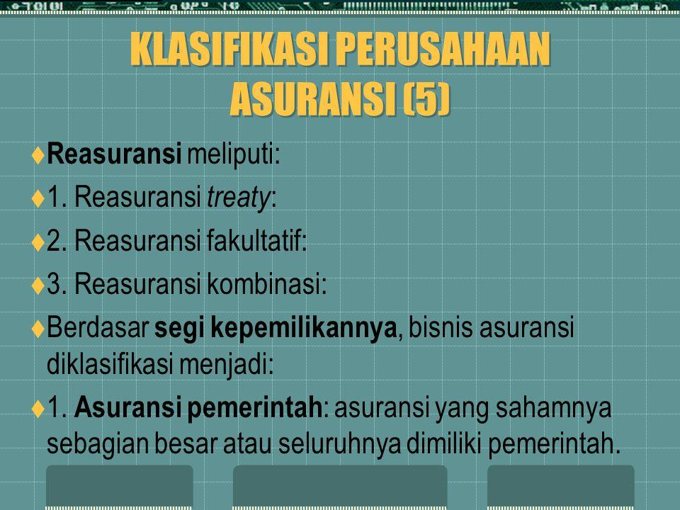 KLASIFIKASI PERUSAHAAN ASURANSI (5)