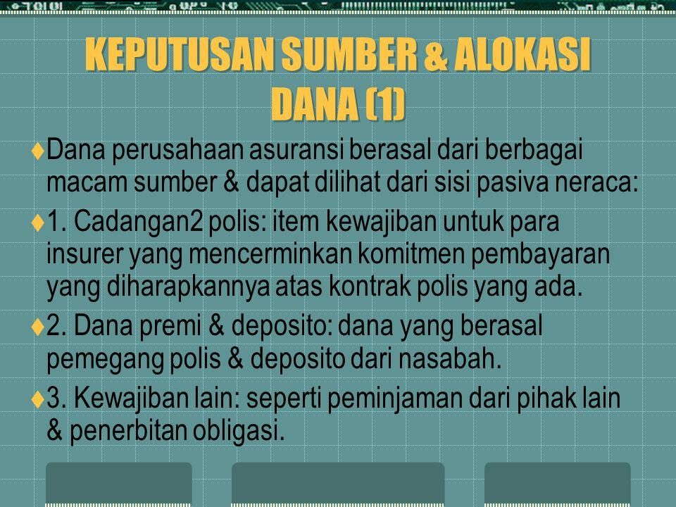 KEPUTUSAN SUMBER & ALOKASI DANA (1)
