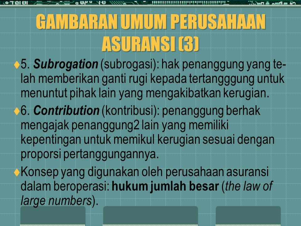 GAMBARAN UMUM PERUSAHAAN ASURANSI (3)