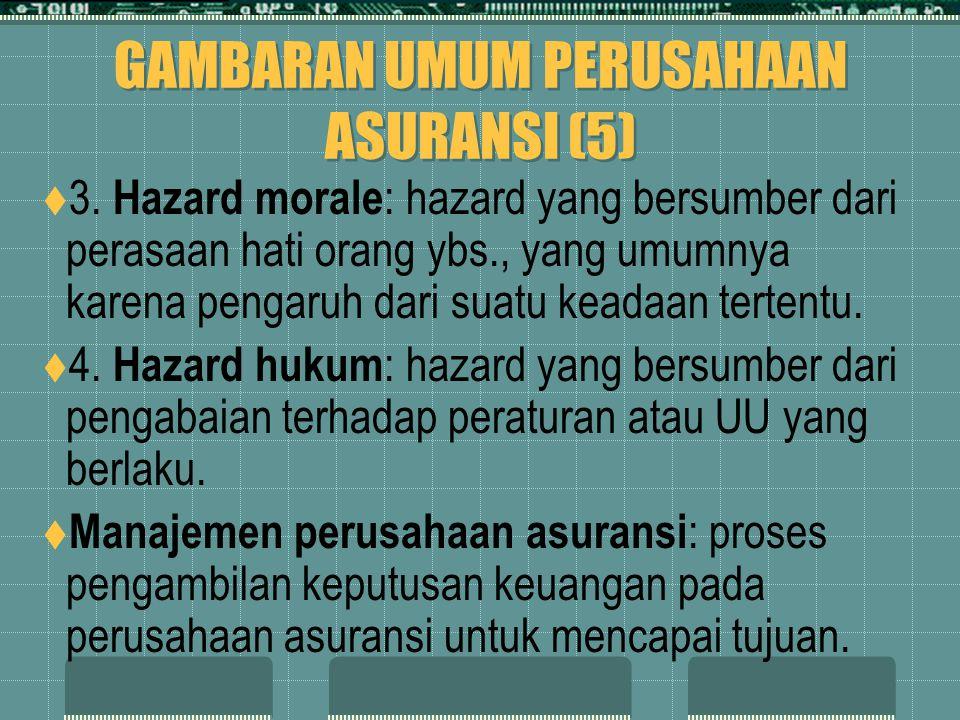 GAMBARAN UMUM PERUSAHAAN ASURANSI (5)