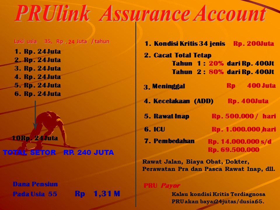 PRUlink Assurance Account