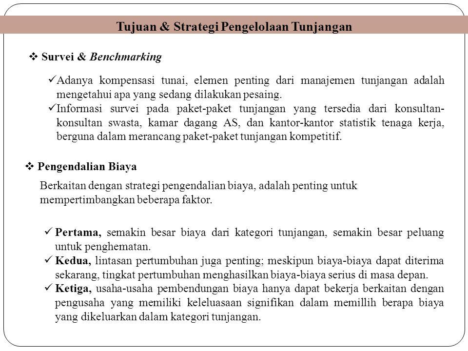 Tujuan & Strategi Pengelolaan Tunjangan
