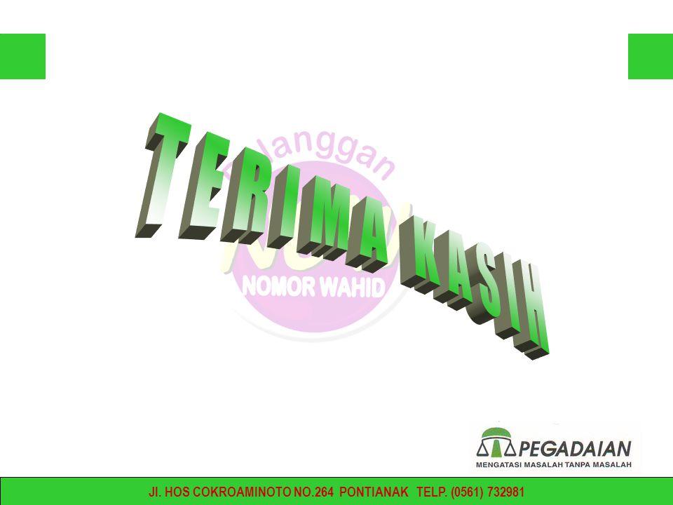 Jl. HOS COKROAMINOTO NO.264 PONTIANAK TELP. (0561) 732981
