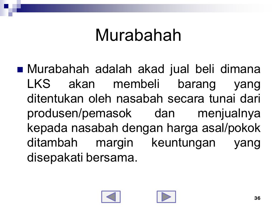Fatwa DSN tentang Murabahah No.04/DSN-MUI/IV/2000