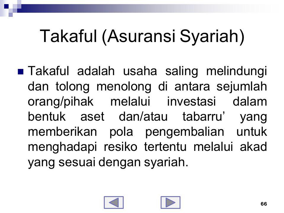 Takaful (Asuransi Syariah)-samb.