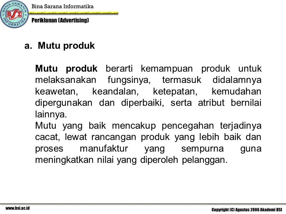 Mutu produk