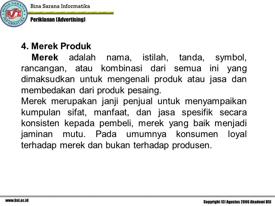 4. Merek Produk