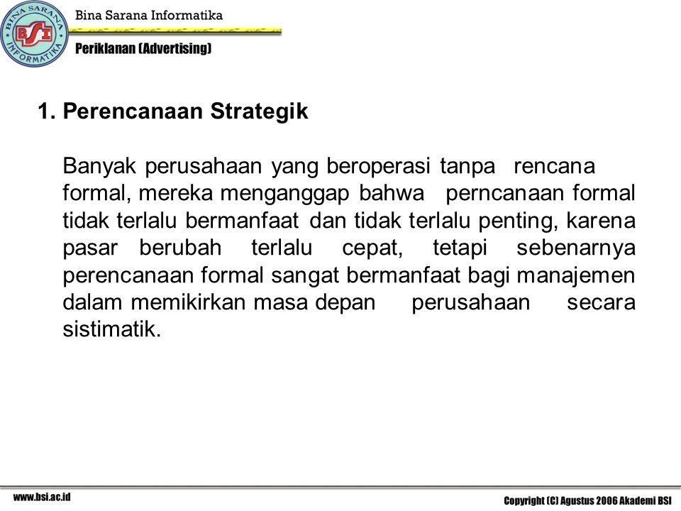 Perencanaan Strategik