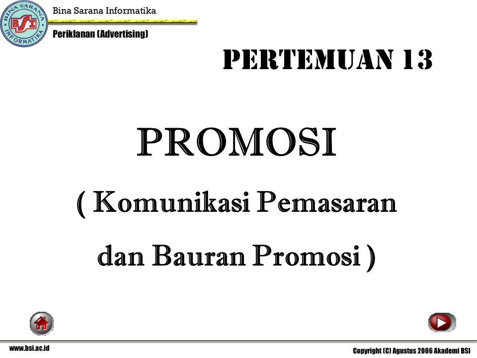 ( Komunikasi Pemasaran