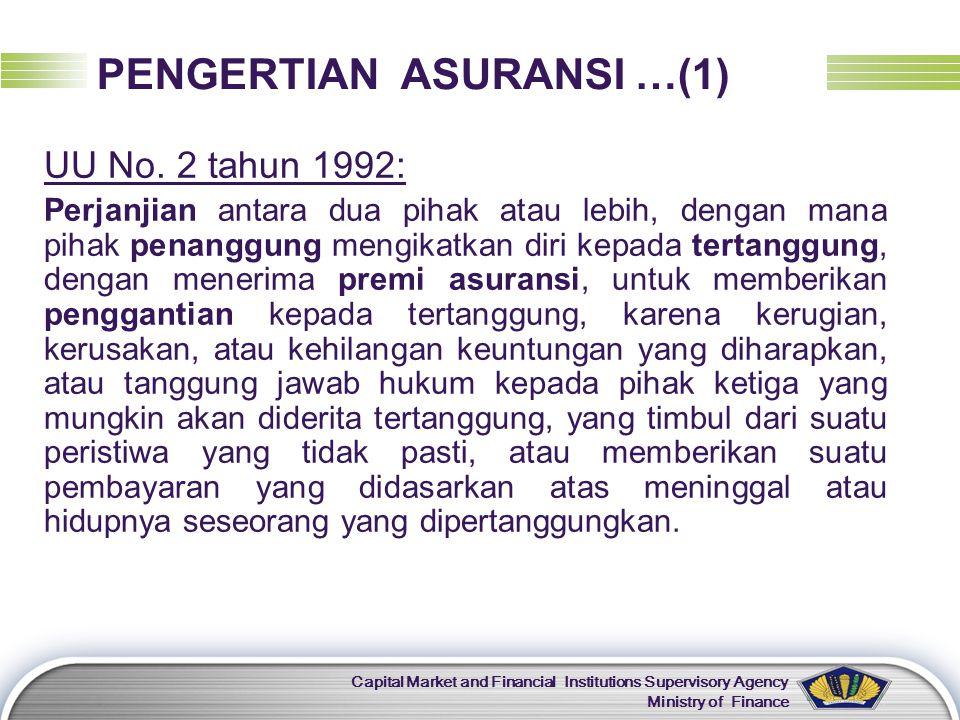 PENGERTIAN ASURANSI …(1)