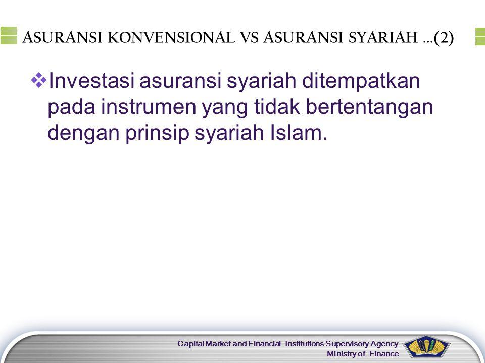 ASURANSI KONVENSIONAL VS ASURANSI SYARIAH ...(2)