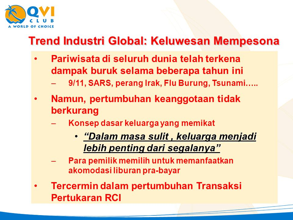 Trend Industri Global: Keluwesan Mempesona