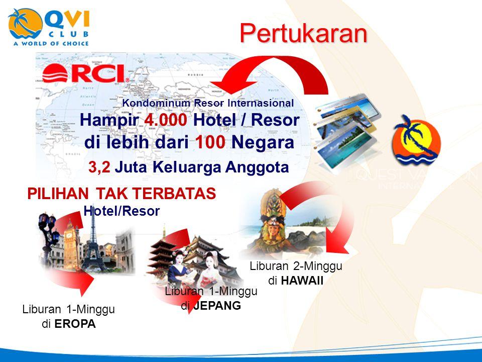 PILIHAN TAK TERBATAS Hotel/Resor