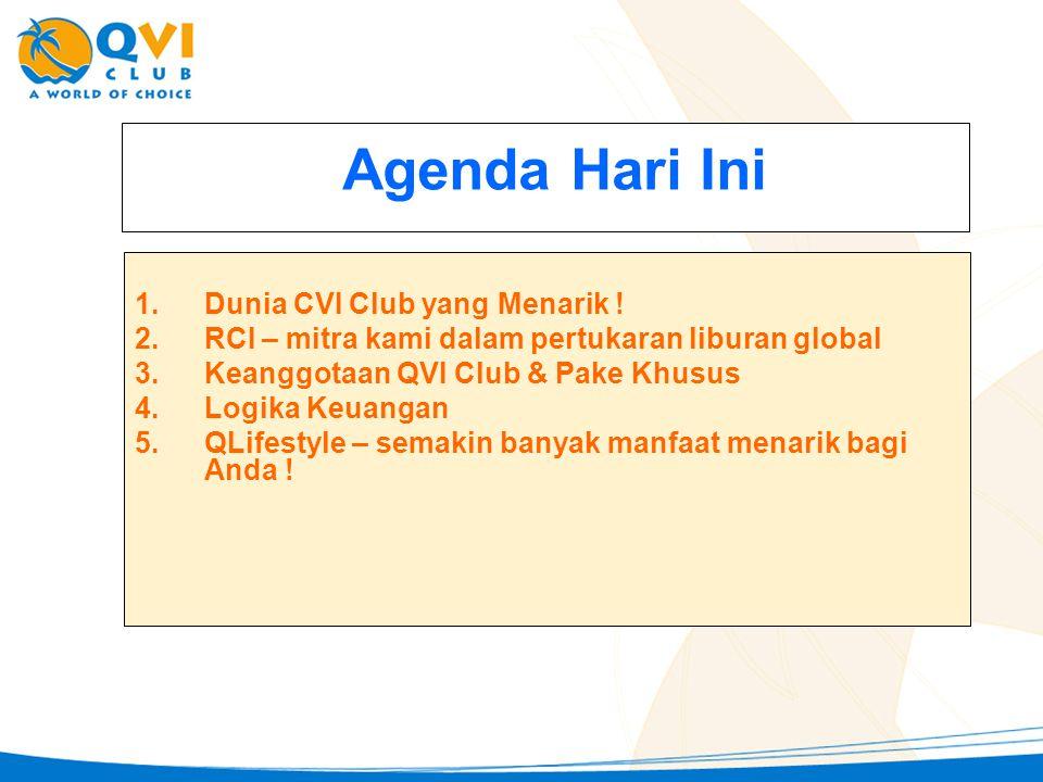 Agenda Hari Ini Dunia CVI Club yang Menarik !