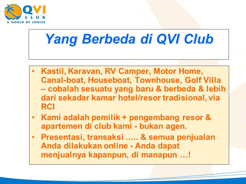 Yang Berbeda di QVI Club